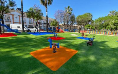10 beneficios de la Grama Sintetica en parques infantiles
